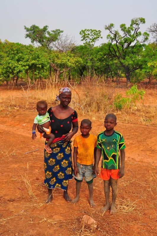 Familia en Banfora