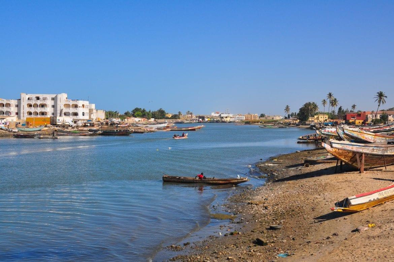 Panorámica del río Senegal