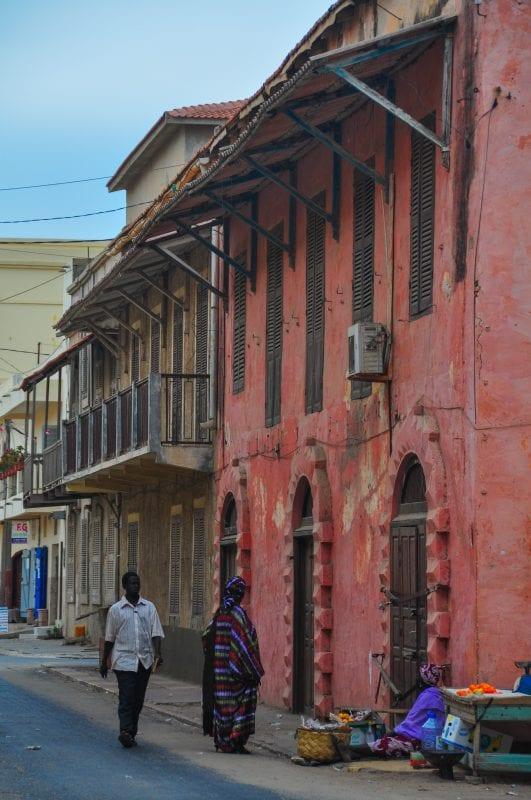 Edificios antiguos de Saint Louis