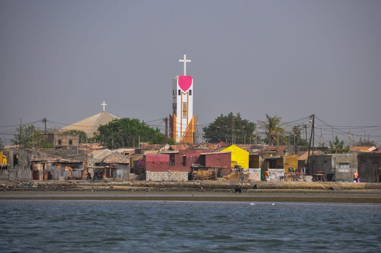 Iglesia de Fadiouth
