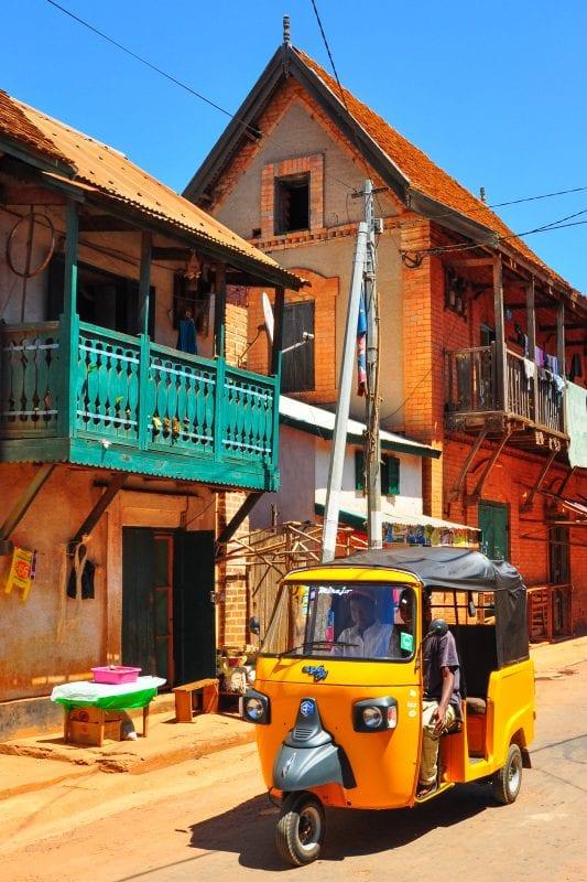 Calle de Ambalavao
