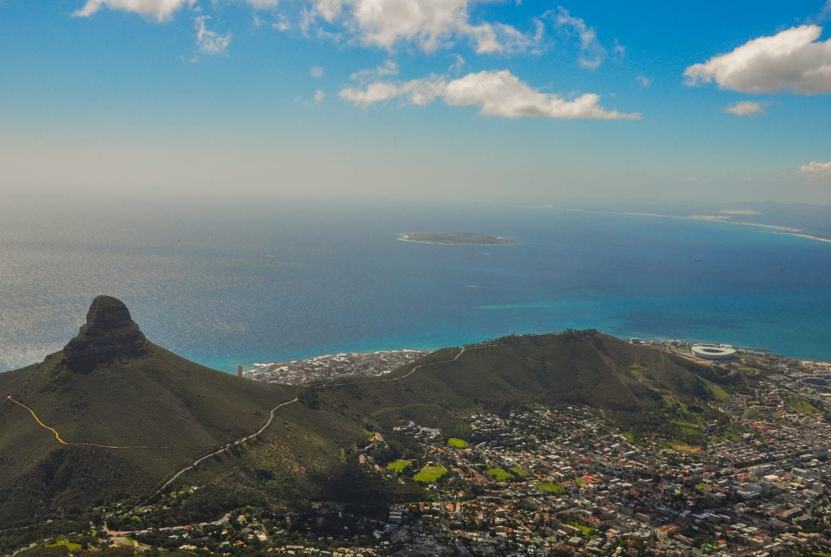 Vistas desde la Table Mountain