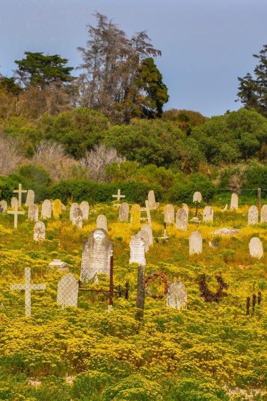 Cementerio en Robben Island