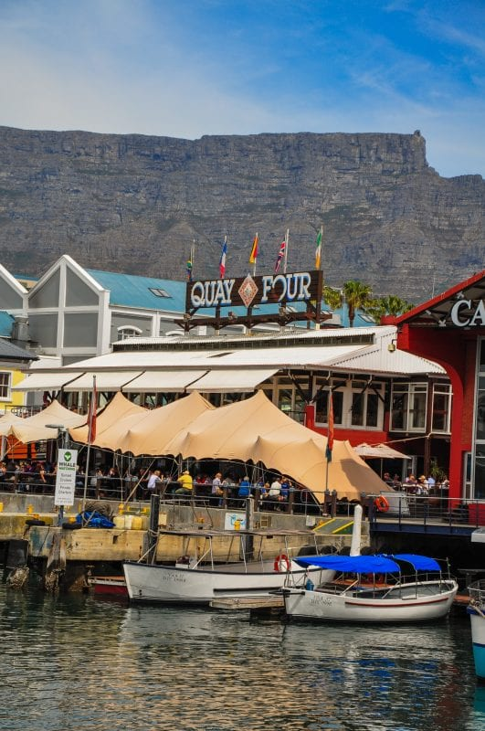 Waterfront en Cape Town