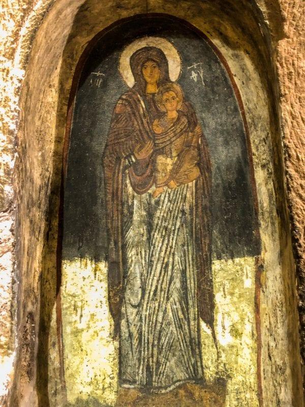 Virgen sonriente